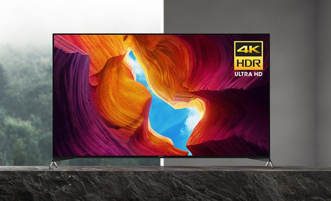 Sony X950H 65 inch 4K Ultra HD Smart LED TV Promo Image