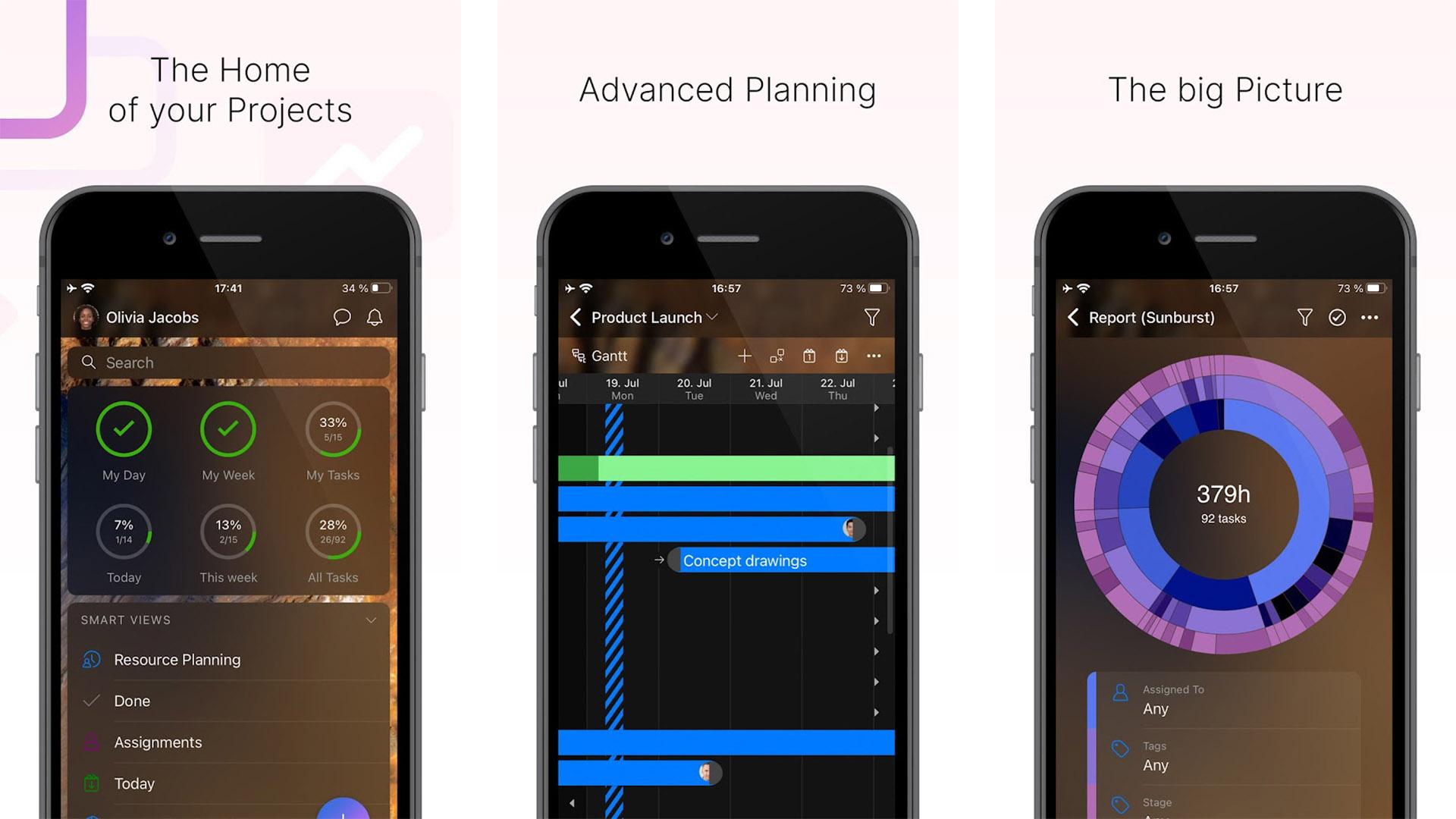Zenkit Projects screenshot