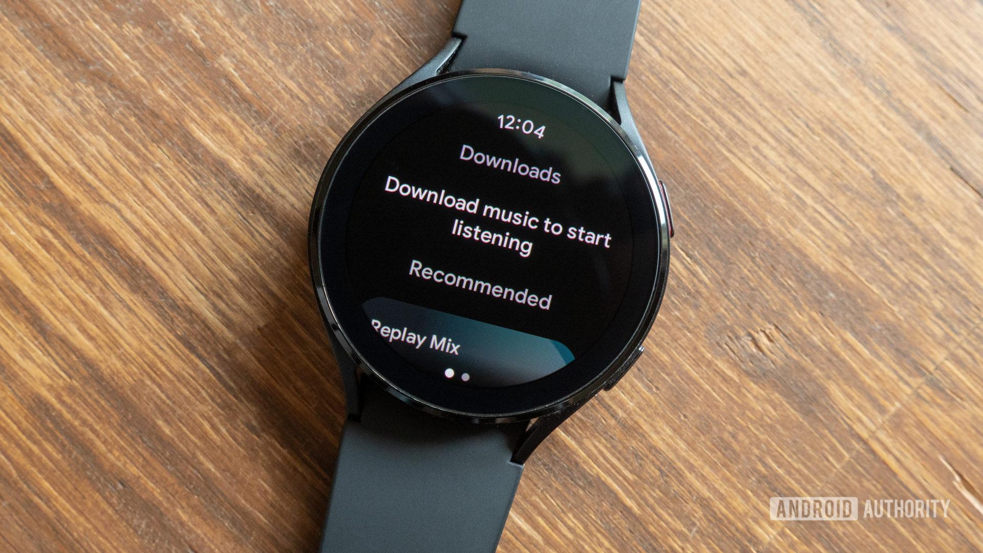 Wear OS Samsung Galaxy Watch 4 downloads