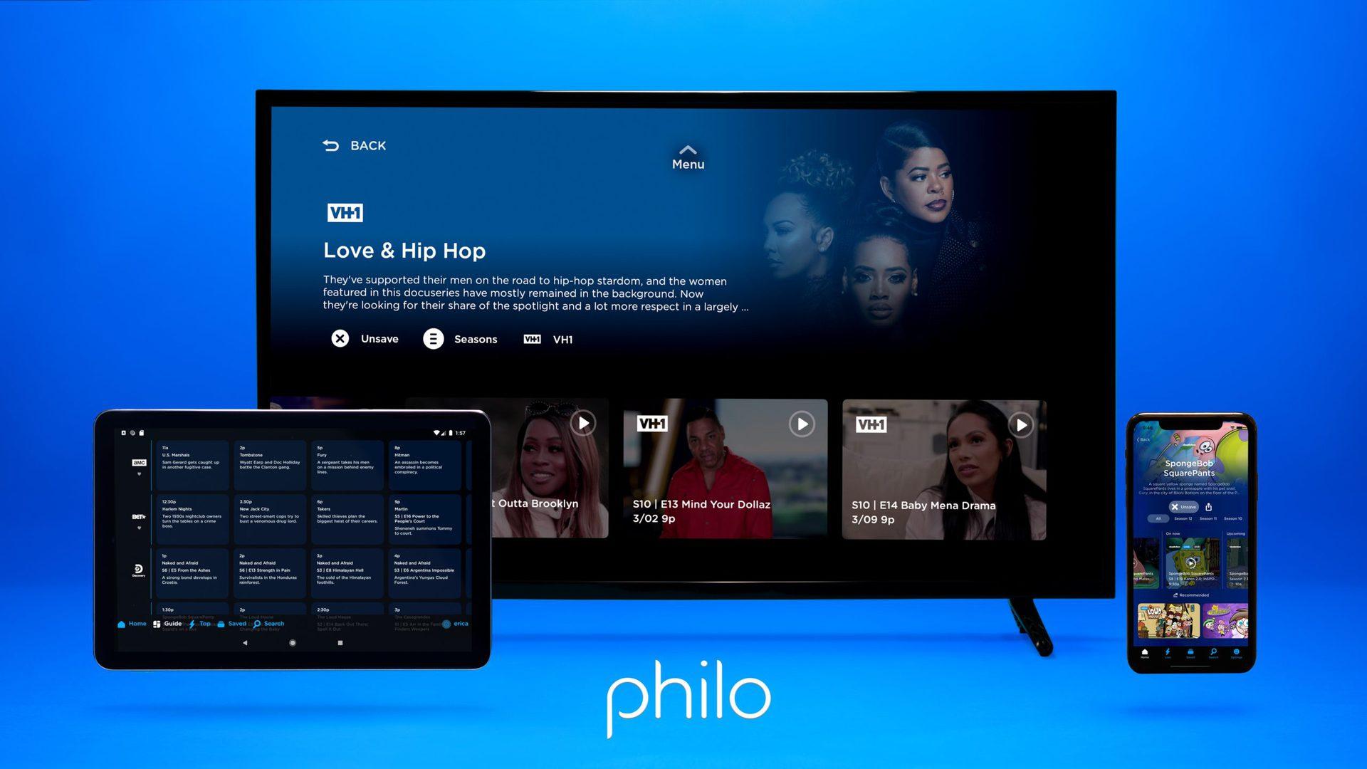 philo tv platforms