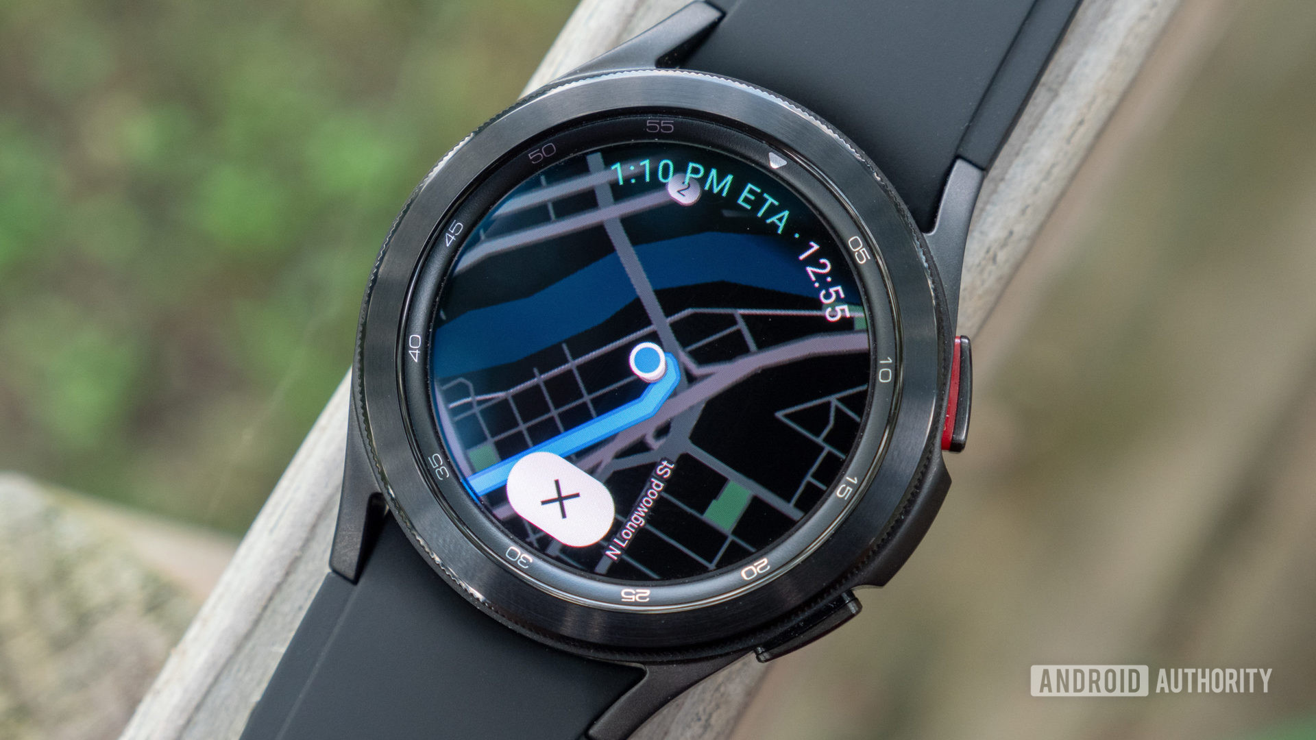 samsung galaxy watch 4 review galaxy watch 4 classic on fence google maps