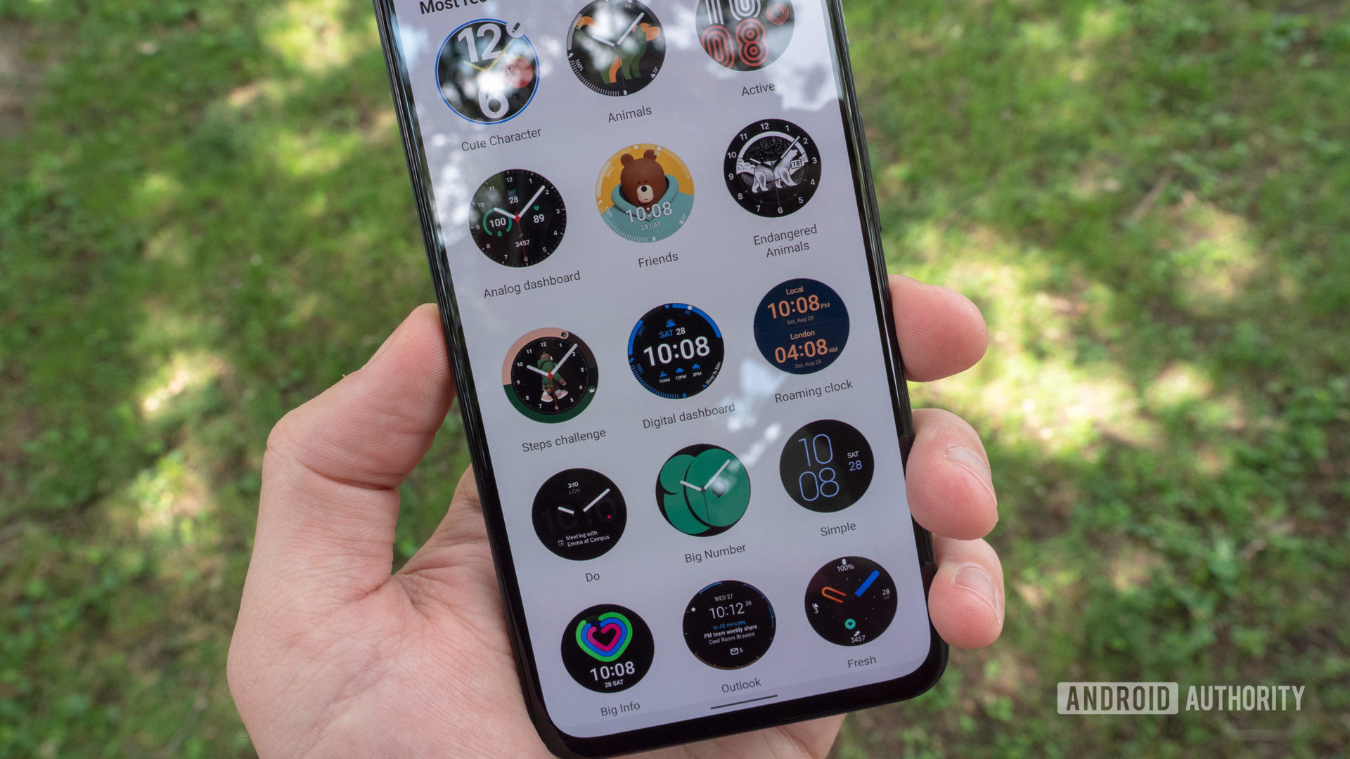 samsung galaxy watch 4 review galaxy wearable app watch faces