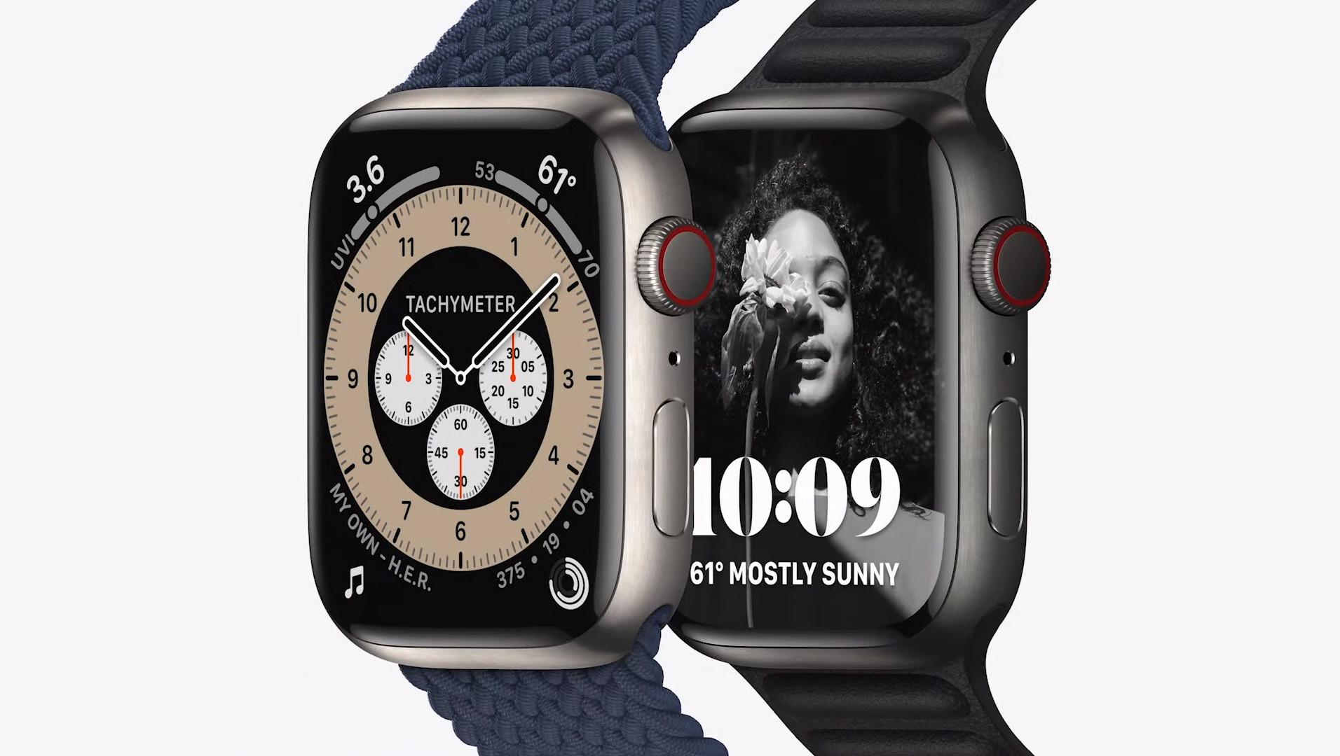 Apple Watch Series 7 again