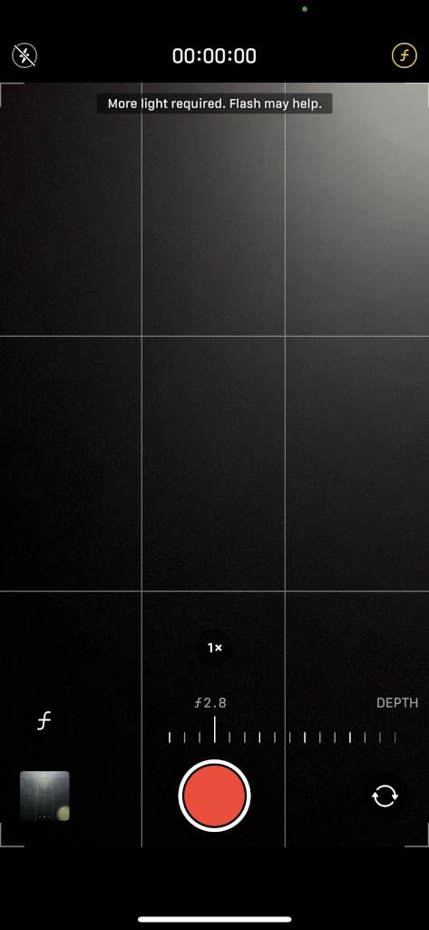 Apple iPhone 13 Pro Max Camera Screenshot cinematic mode