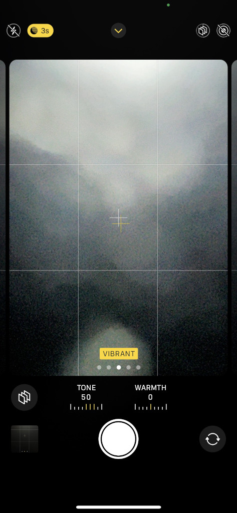Apple iPhone 13 Pro Max Camera Screenshot color profiles