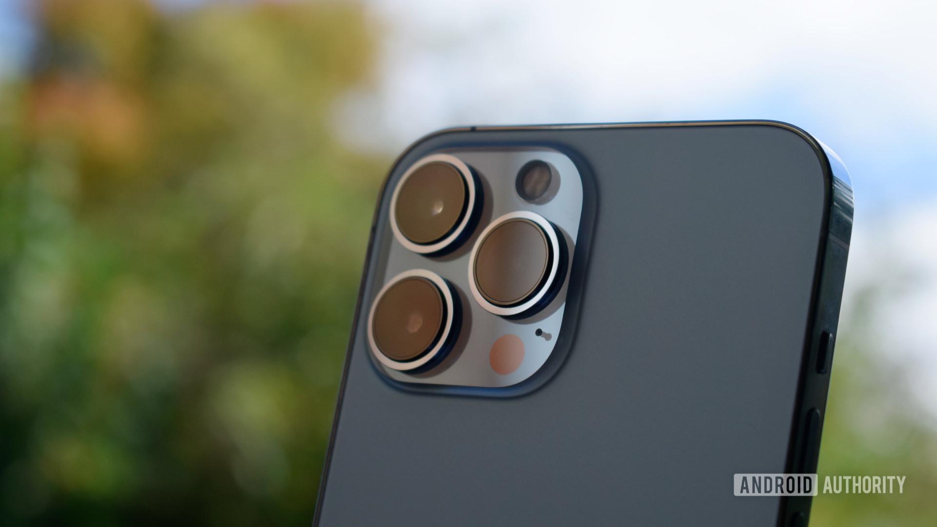 Apple iPhone 13 Pro Max camera closeup sky - The best camera phones