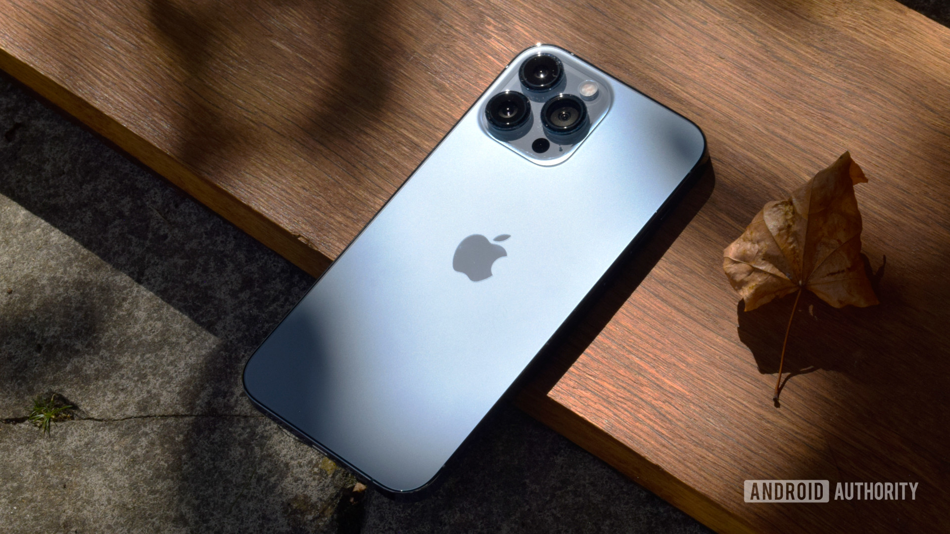 Apple iPhone 13 Pro Max rear view showing cameras.