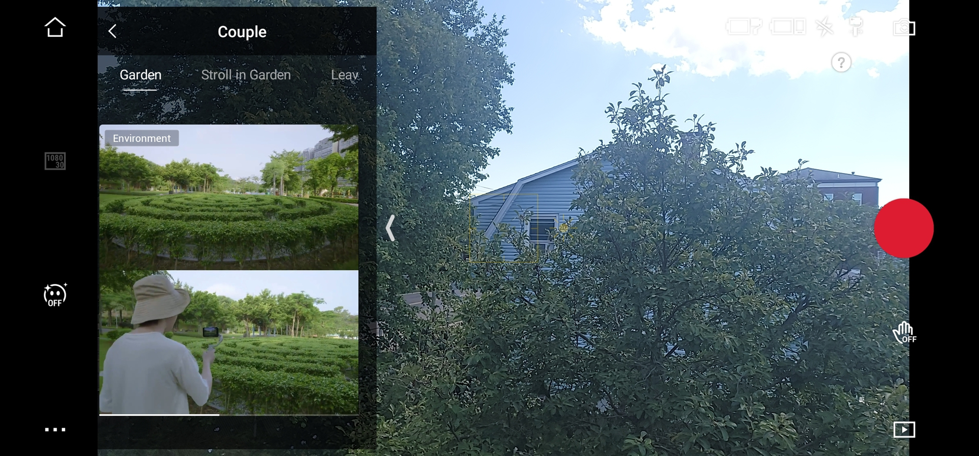 DJI Mimo Shot Guides Screenshot 3
