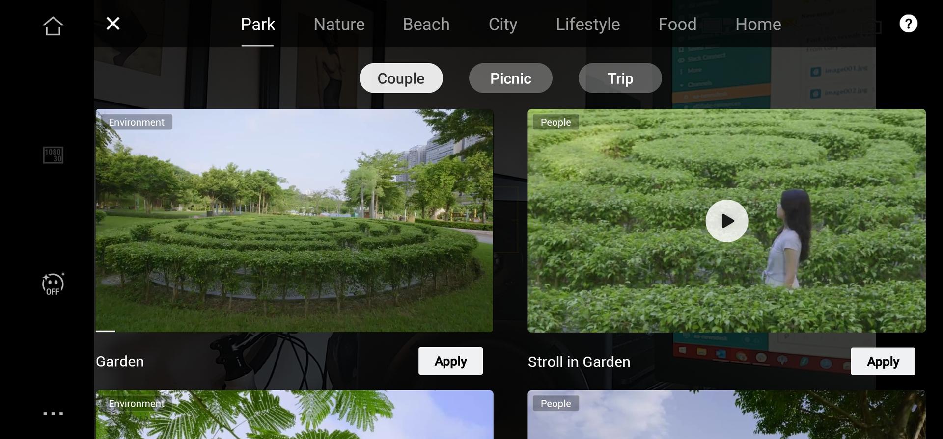 DJI Mimo Shot Guides Screenshot 4