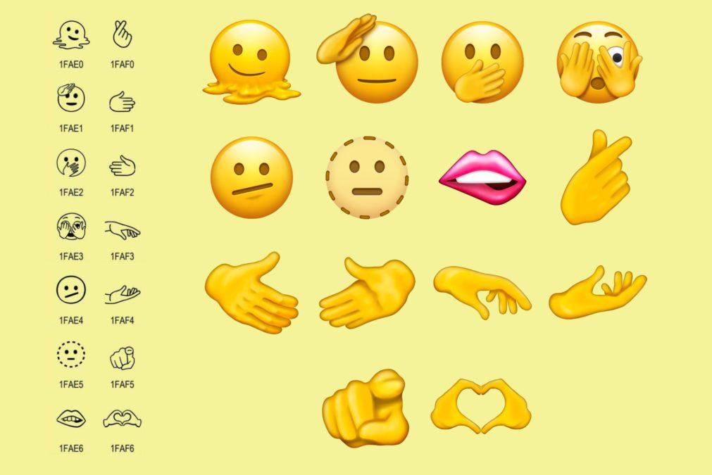 Unicode 14 new emojis announced