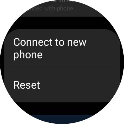 Galaxy Watch 4 Reset