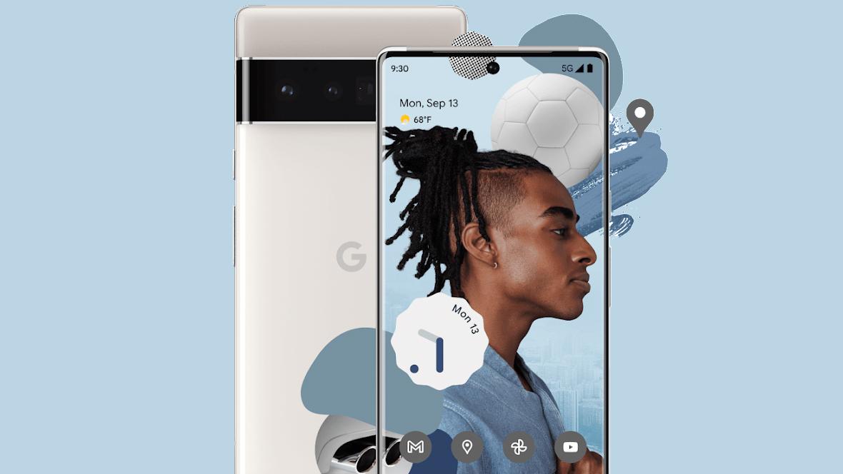 Google Pixel 6 Silver
