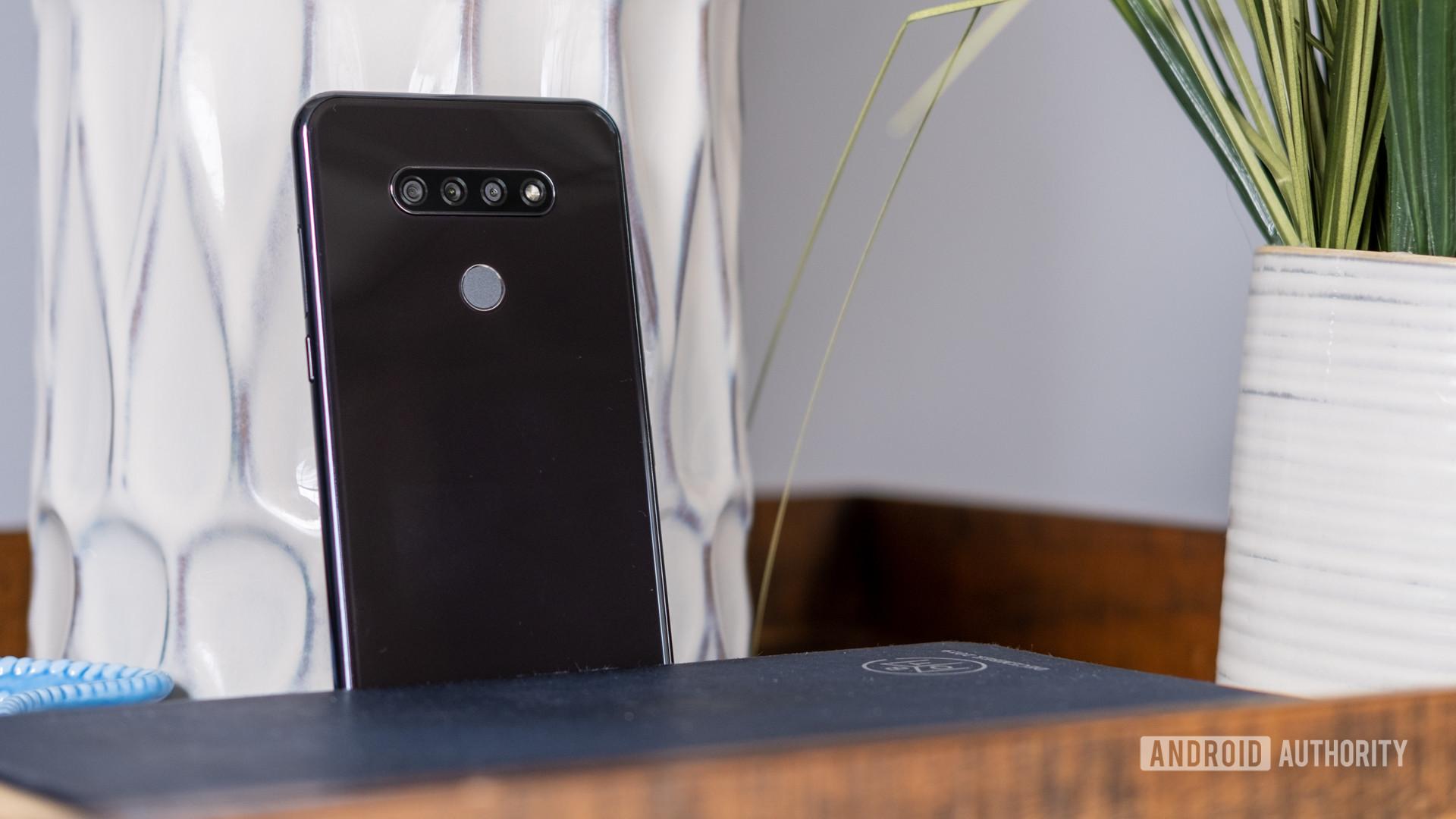 The LG K51 cameras and fingerprint reader