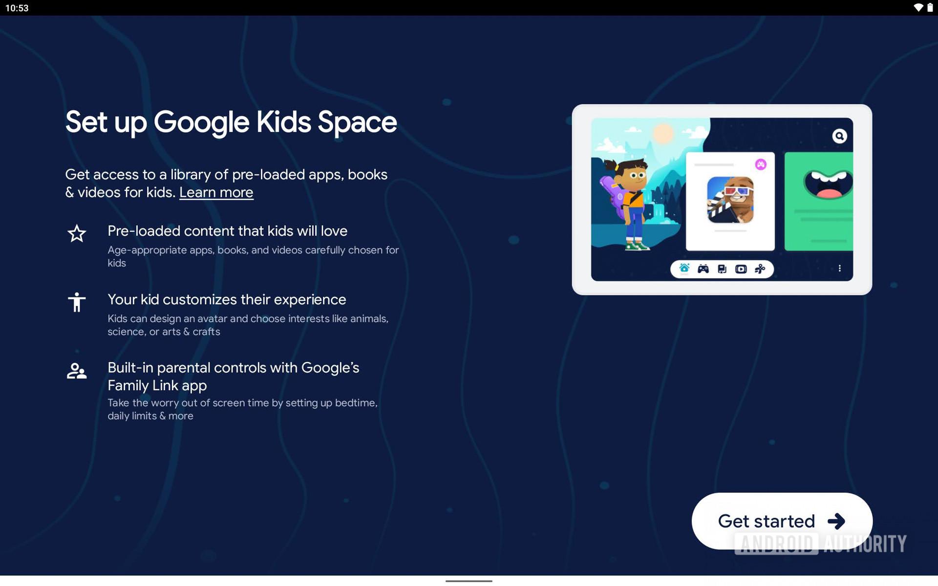 Lenovo Yoga Tab 13 Kids Space
