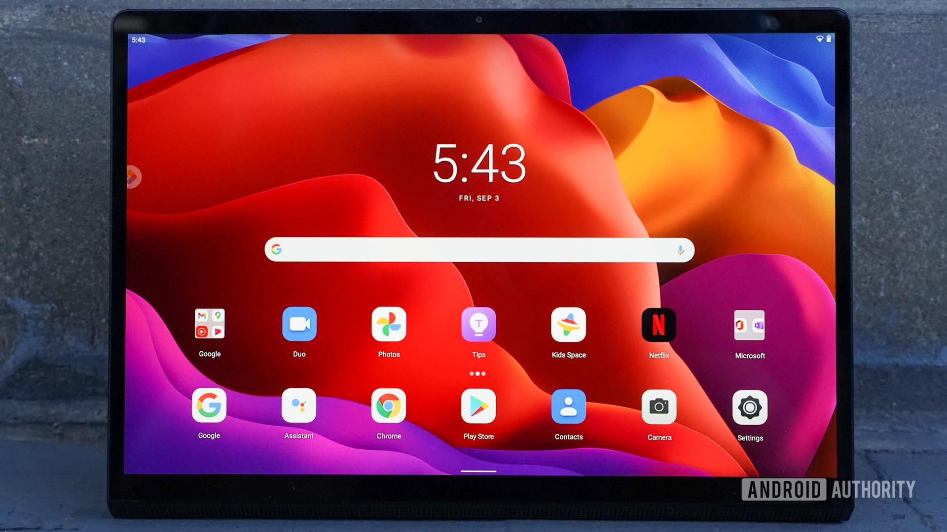 Lenovo Yoga Tab 13 display