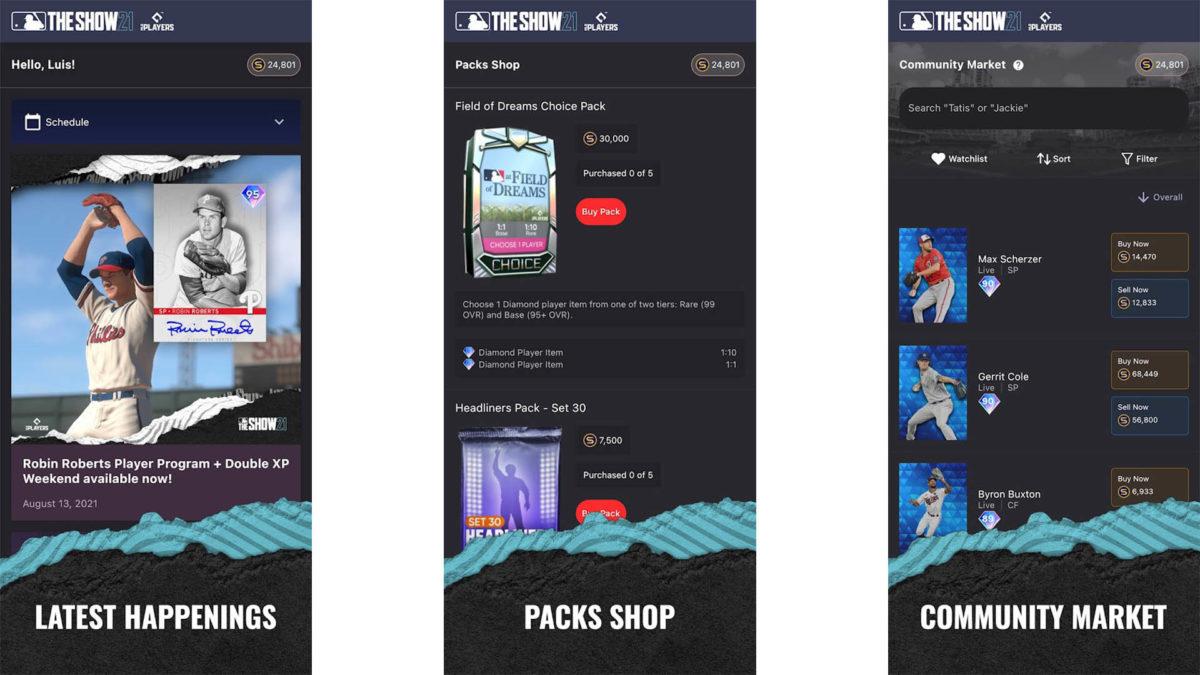 MLB The Show 21 Companion App screenshot