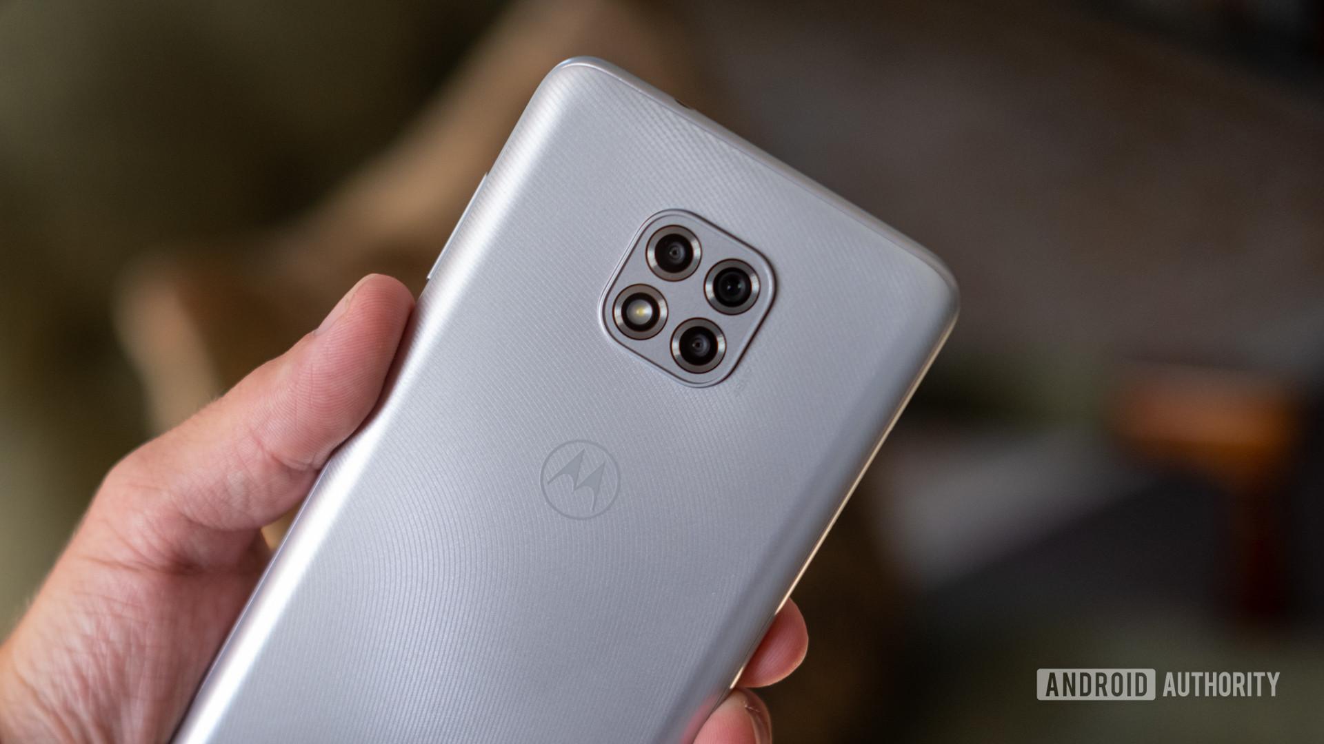 Motorola Moto G Power camera close up