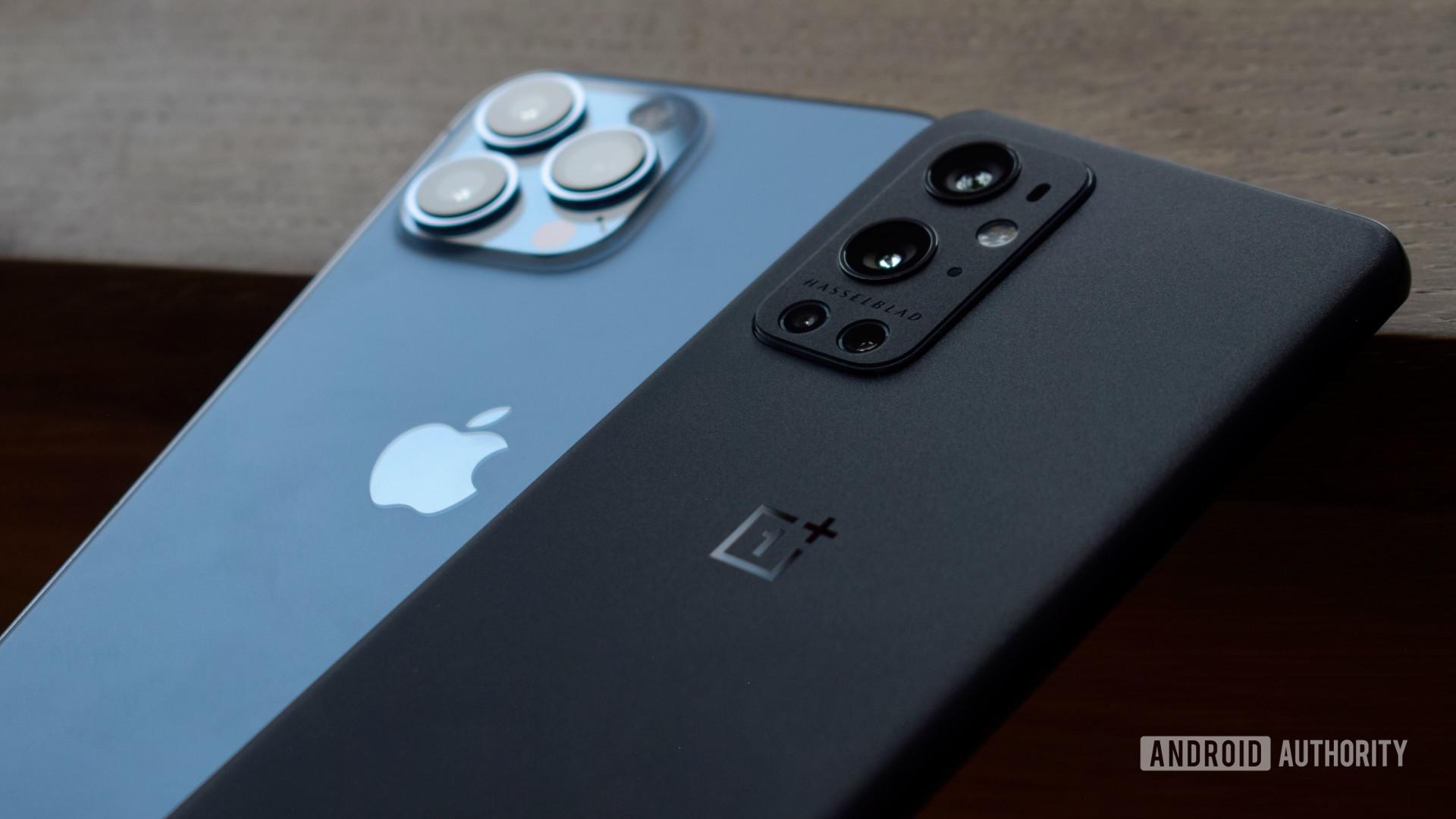 OnePlus 9 Pro vs Apple iPhone 13 Pro Max