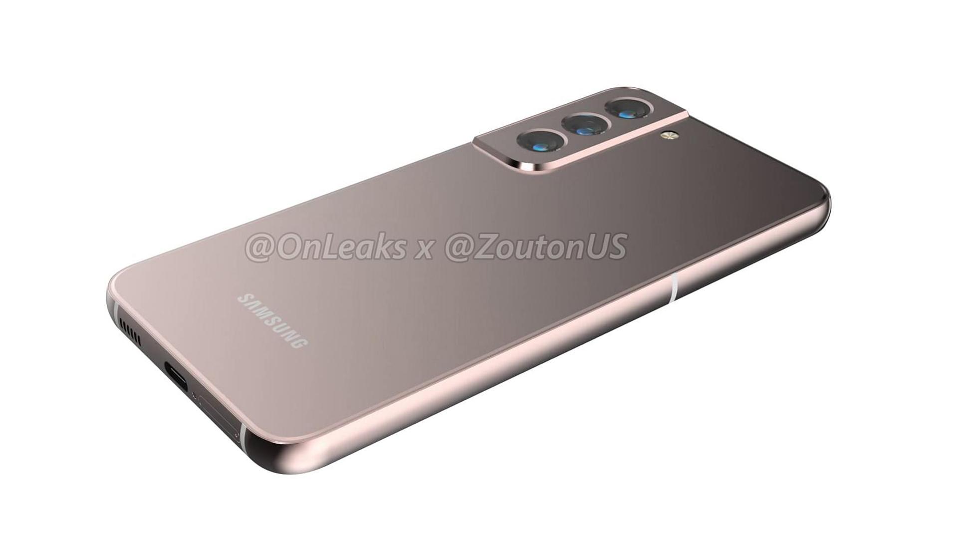 Samsung Galaxy S22 Leaked Design OnLeaks 4