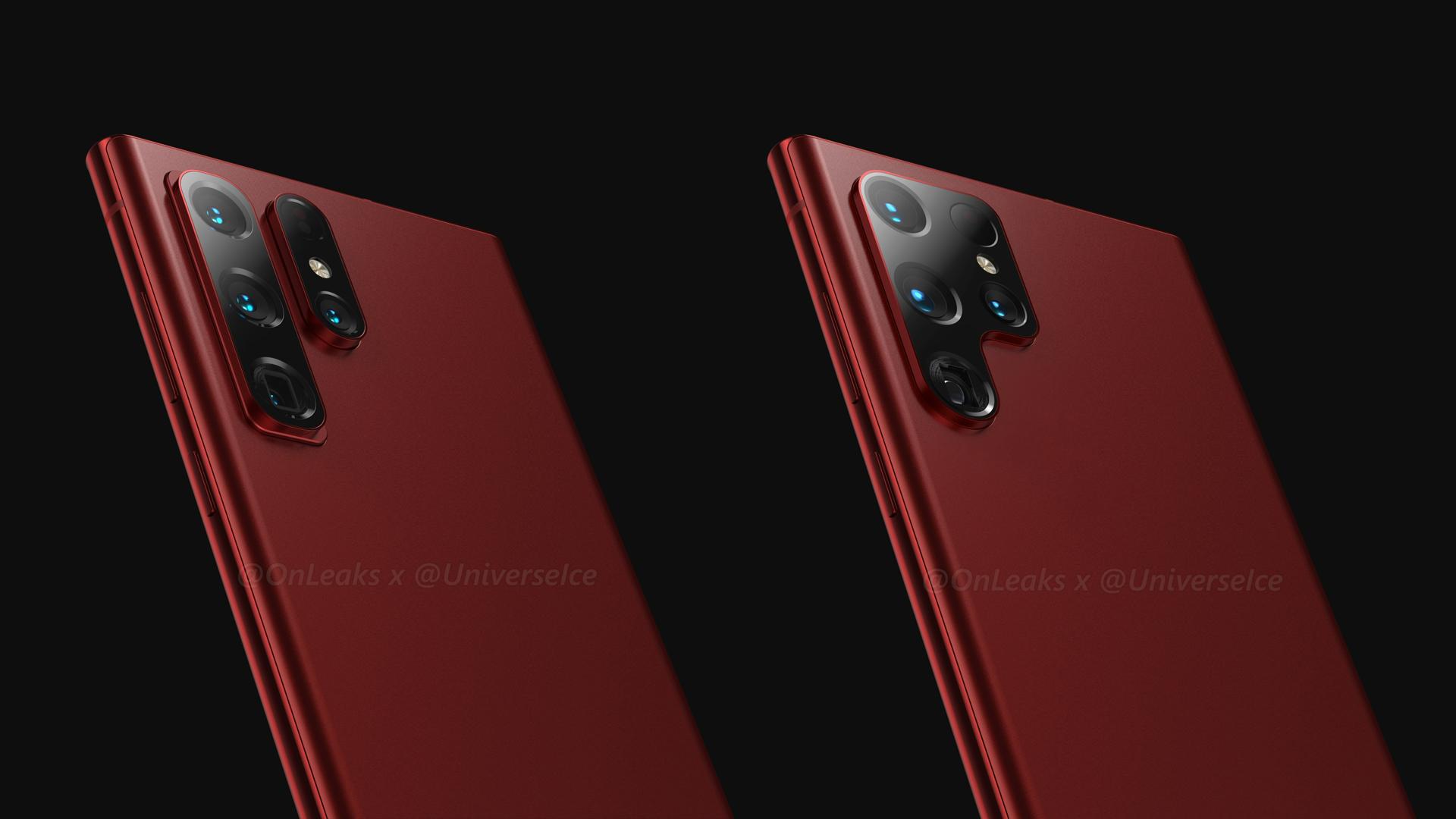 Samsung Galaxy S22 Ultra Leaked Renders Update