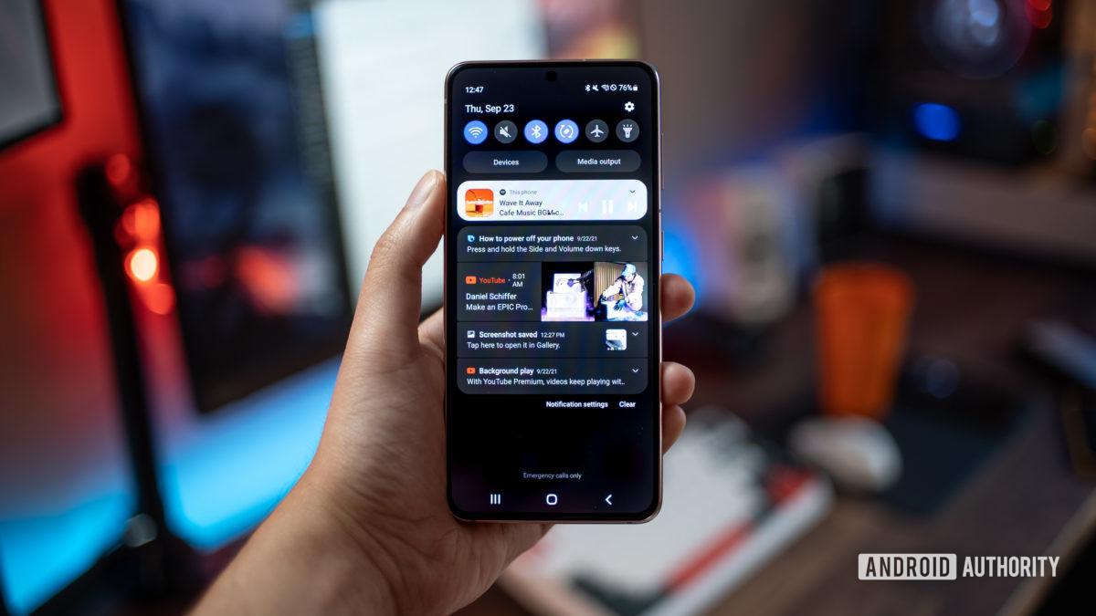 Samsung One UI 4 beta 5