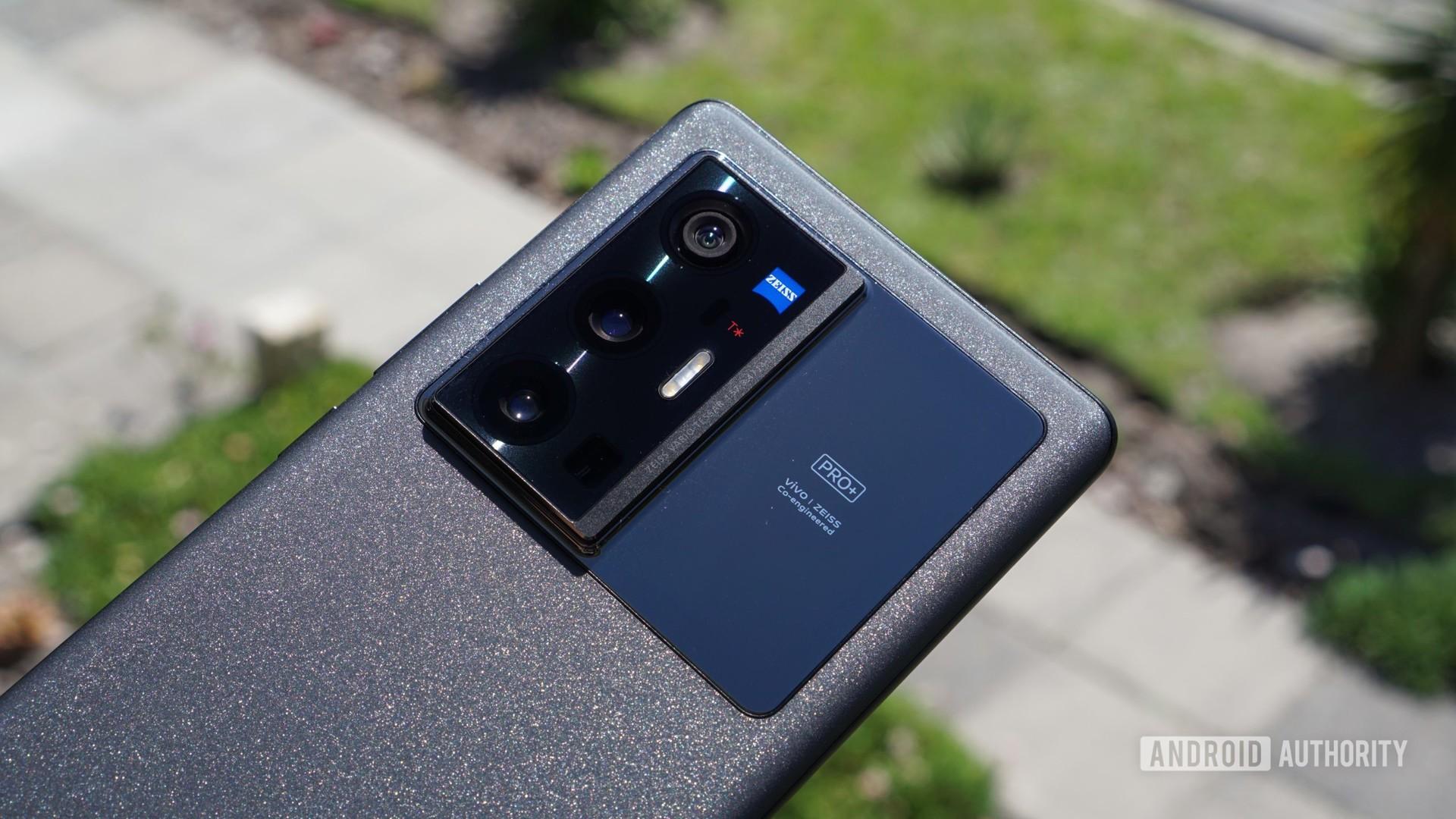 Vivo X70 Pro Plus camera housing and window