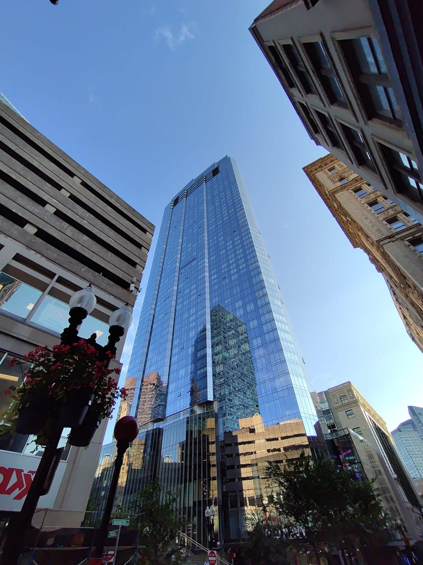 Picture of Boston shot on ZTE Axon 30