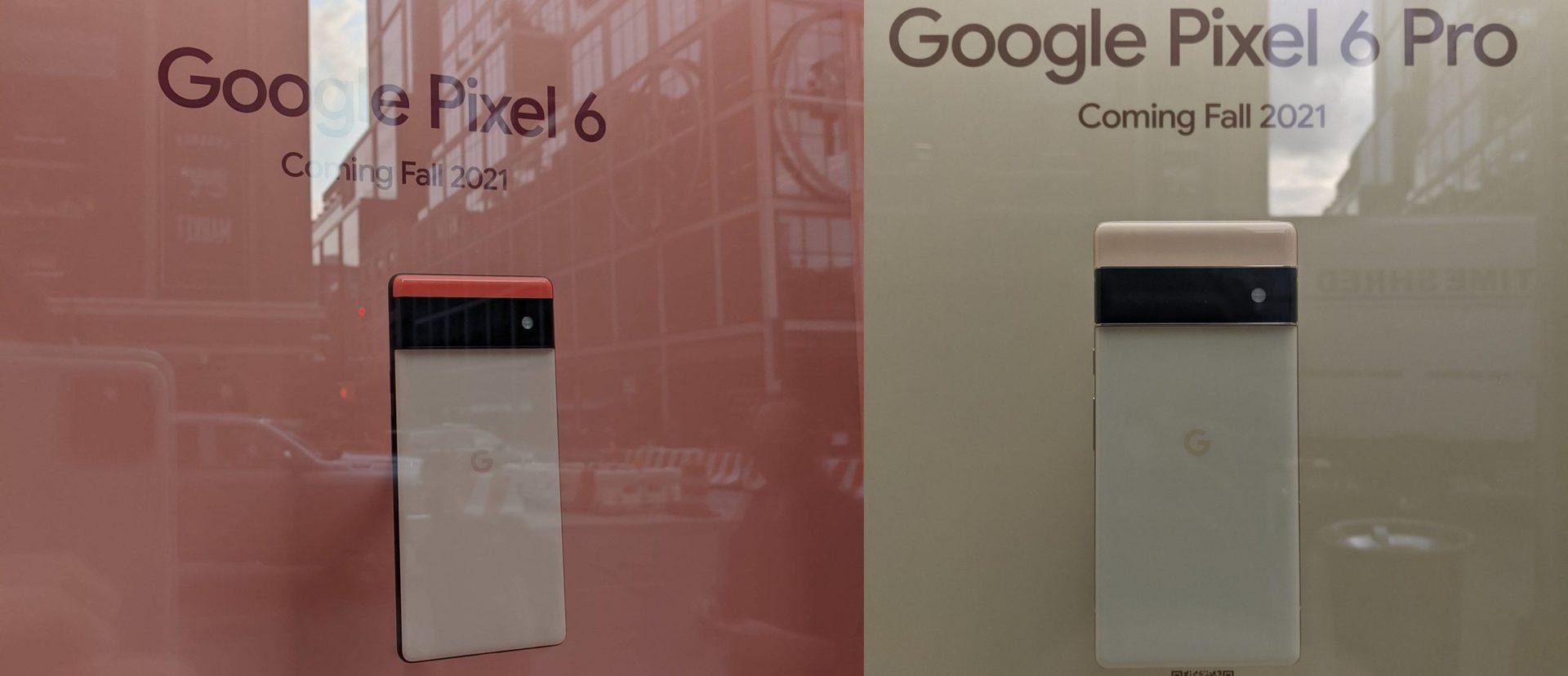 google pixel 6 display