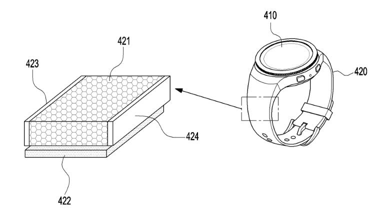 samsung solar charging smartwatch patent 1