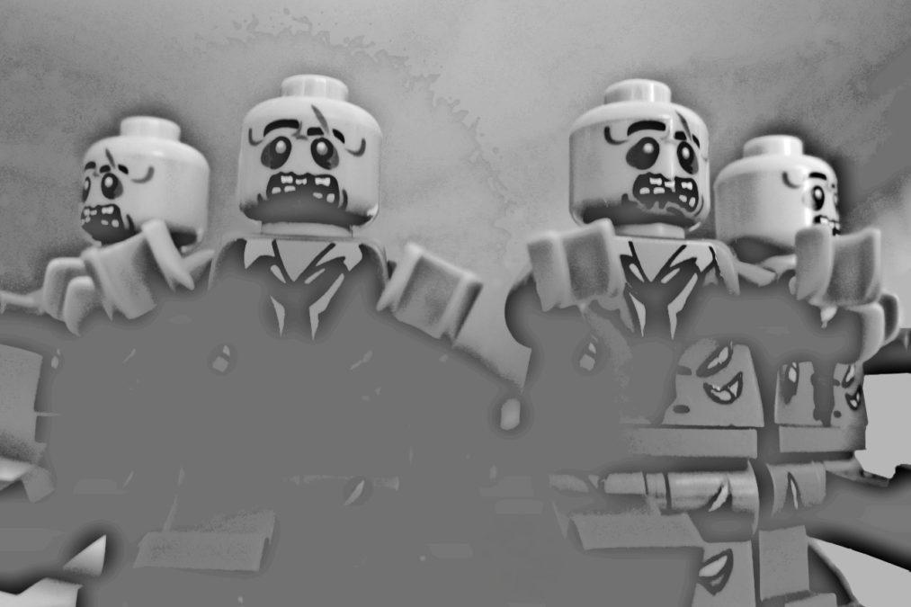 zombie apocalypse lego the weekly authority