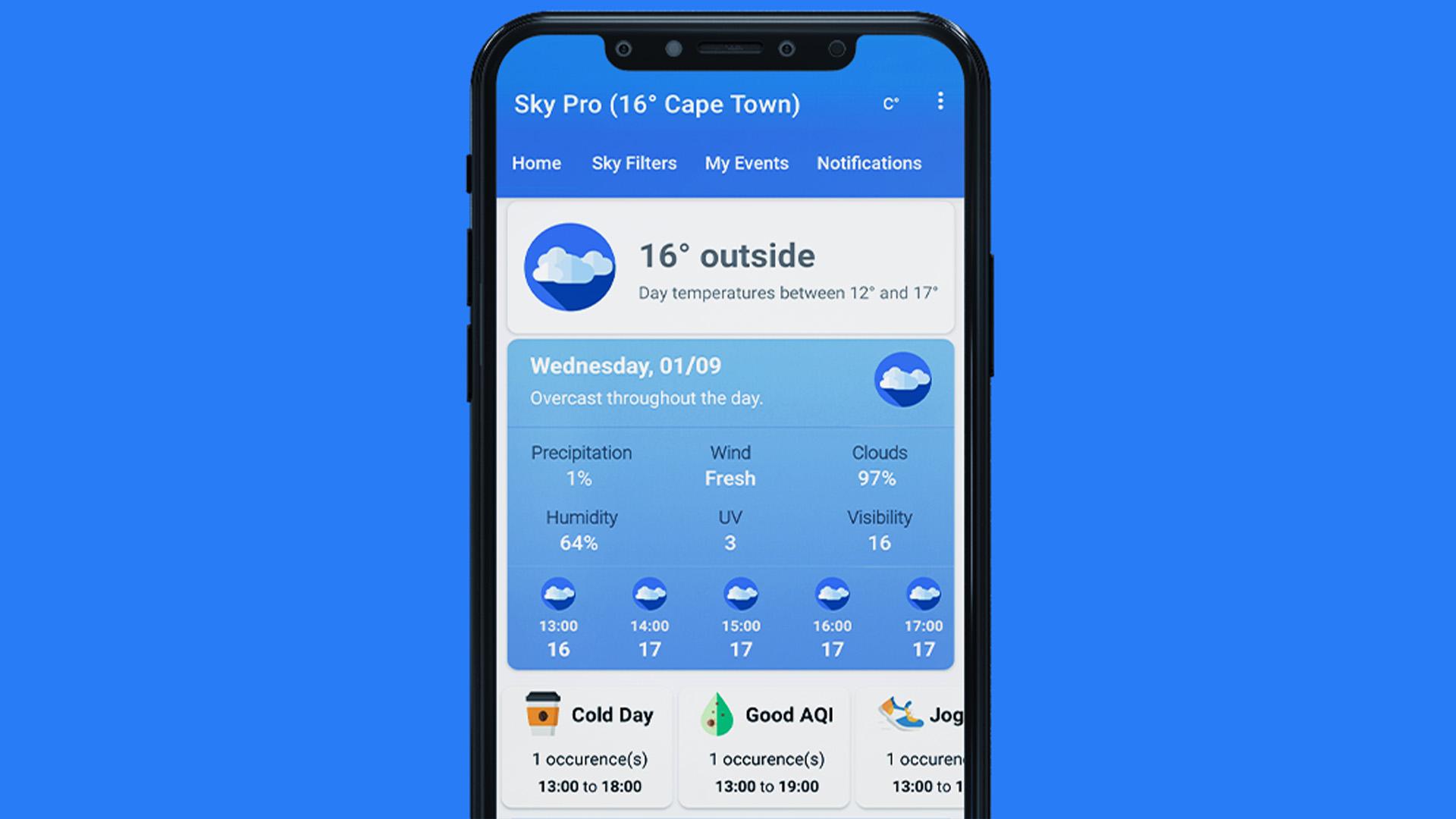 Android Apps Weekly - Sky Weatherman screenshot