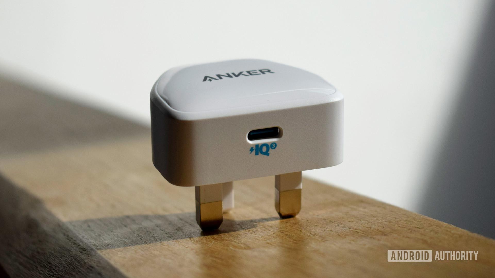Anker PowerPort III Nano USB C port