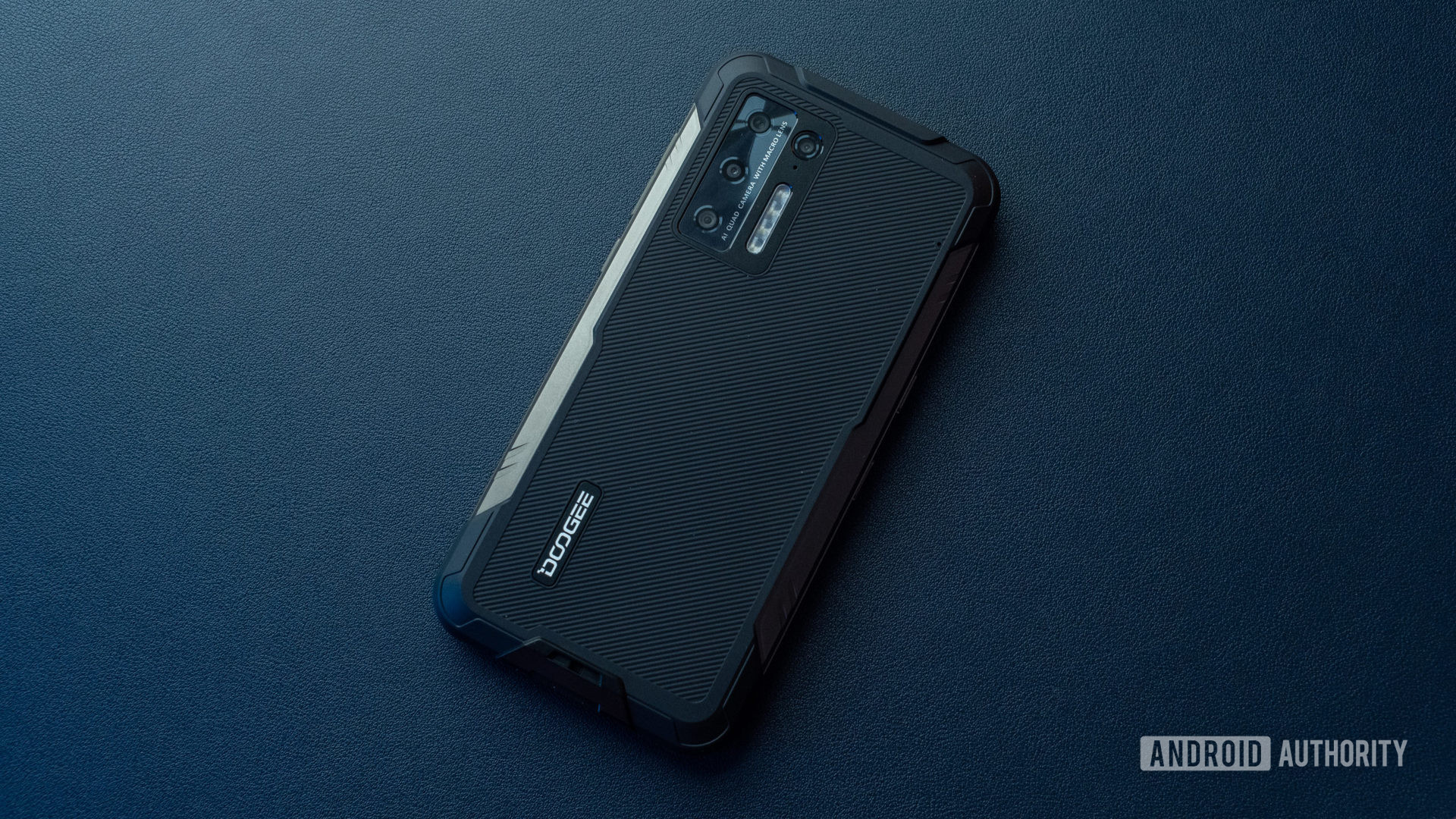 Photo of Doogee S97 Pro sitting on blue table