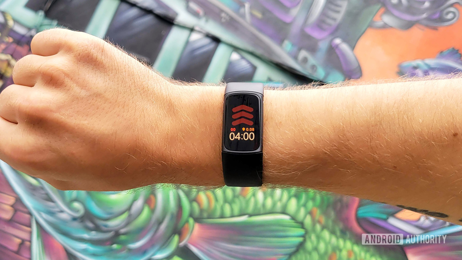 Fitbit Charge 5 Review Hero Color