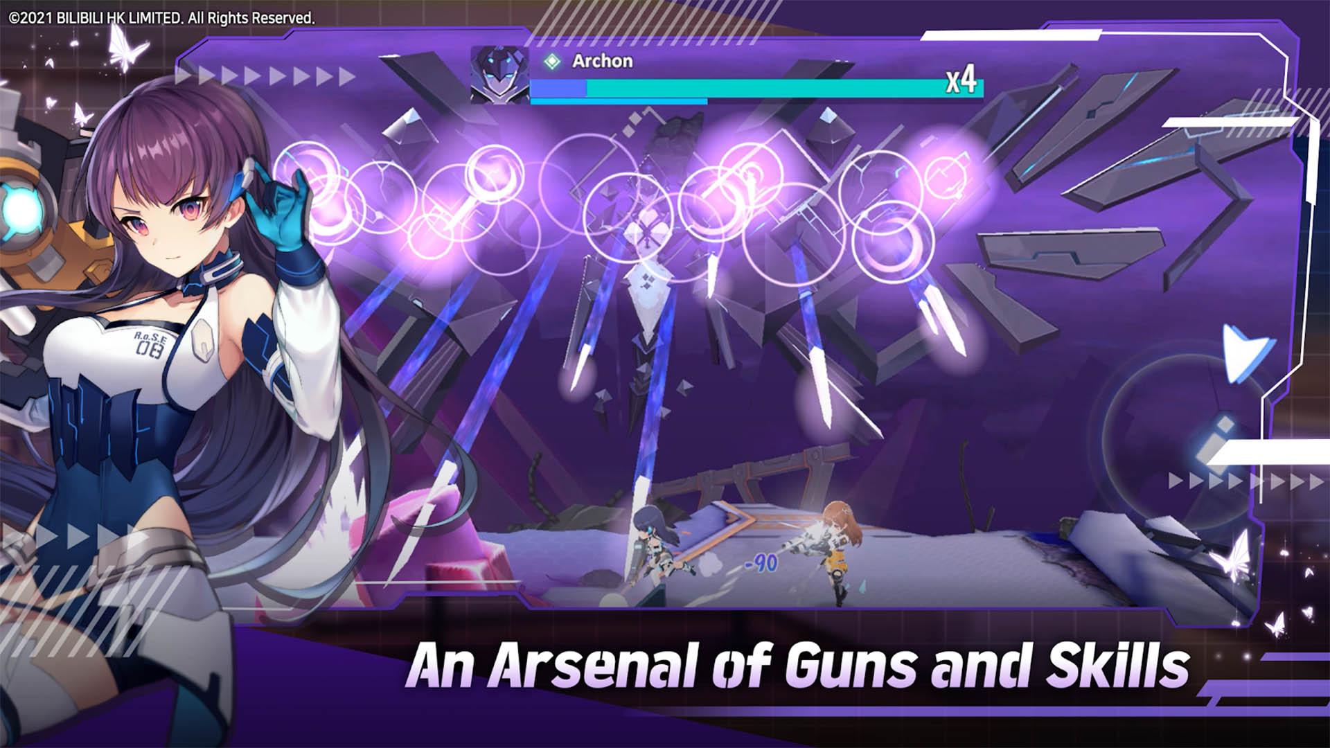 Girl Cafe Gun screenshot