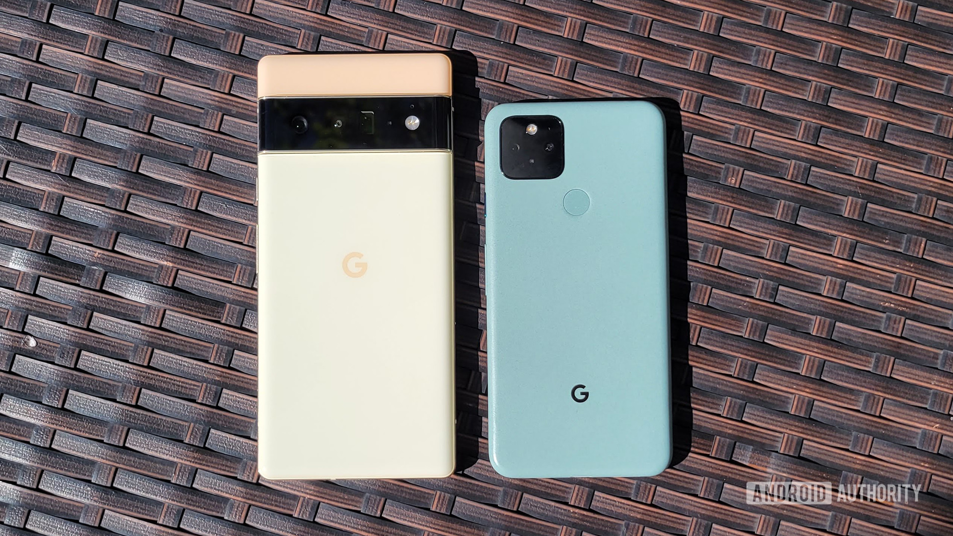 Google Pixel 6 Pro vs Google Pixel 5