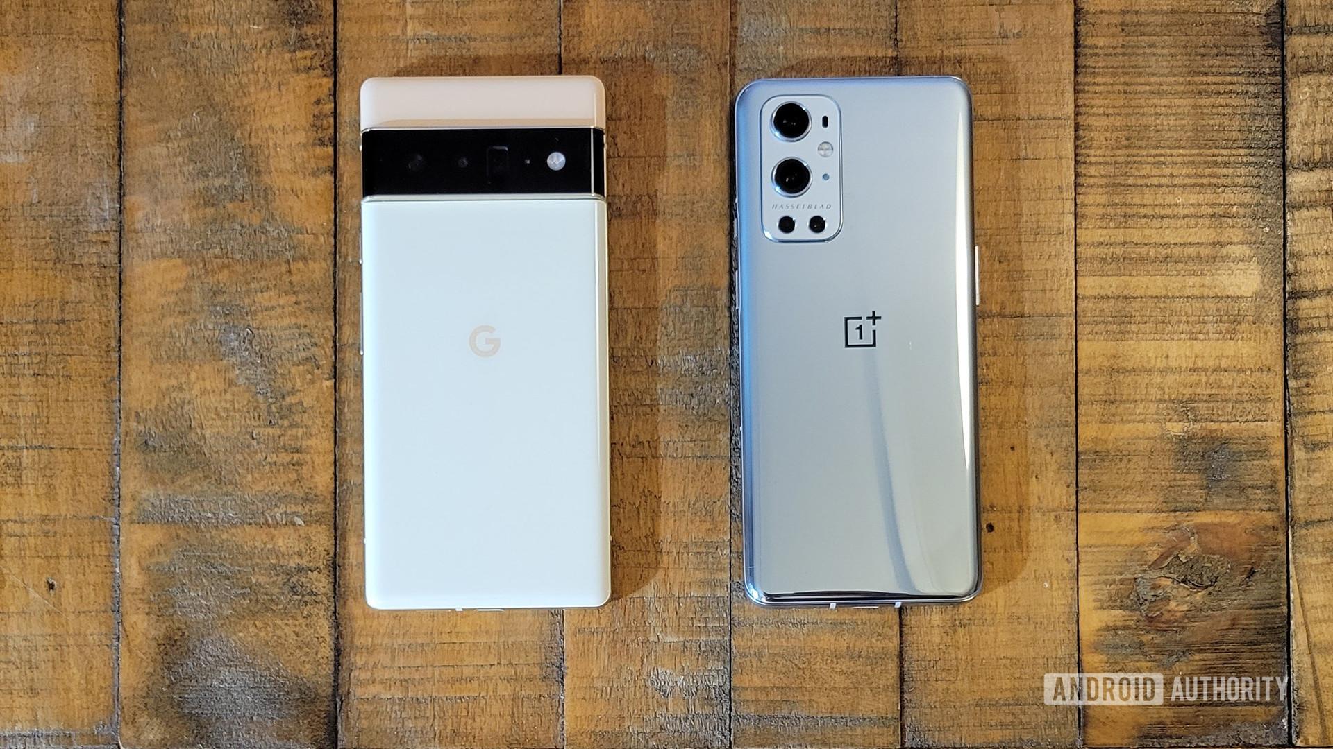 Google Pixel 6 Pro vs OnePlus 9 Pro 1