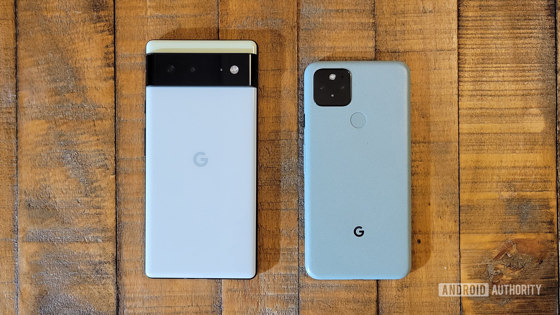 Google Pixel 6 vs Google Pixel 5 1