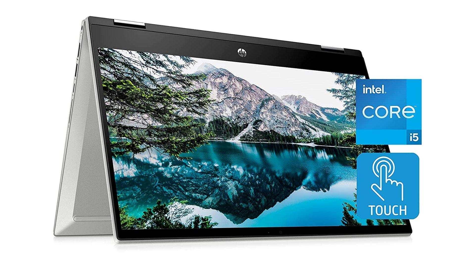 HP Pavilion x360 14 Inch Touchscreen Laptop