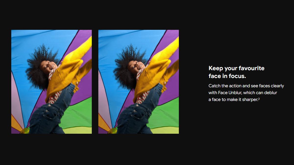 Pixel 6 series Face Deblur Carphone Warehouse