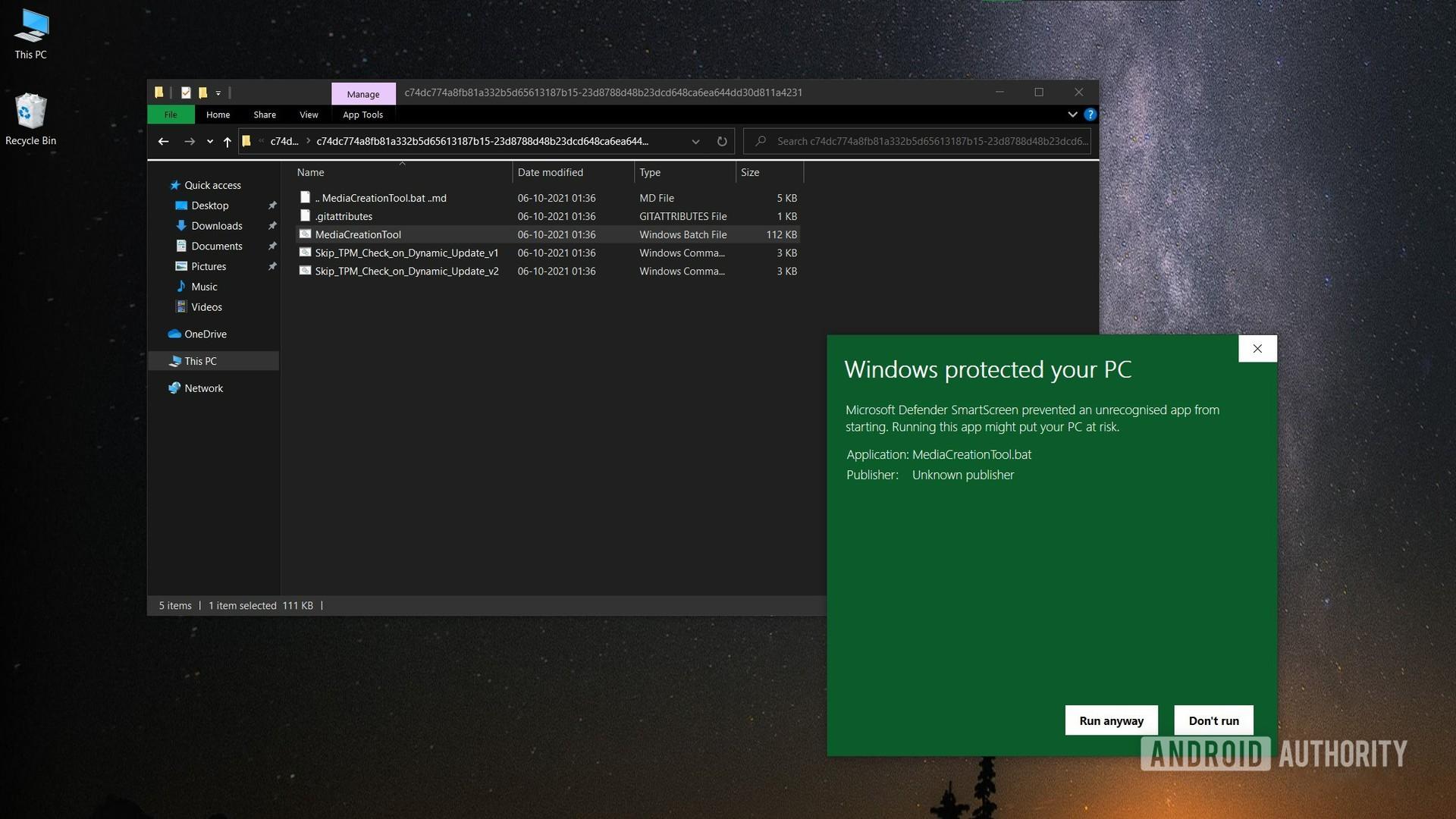 Windows 11 MediaCreationTool