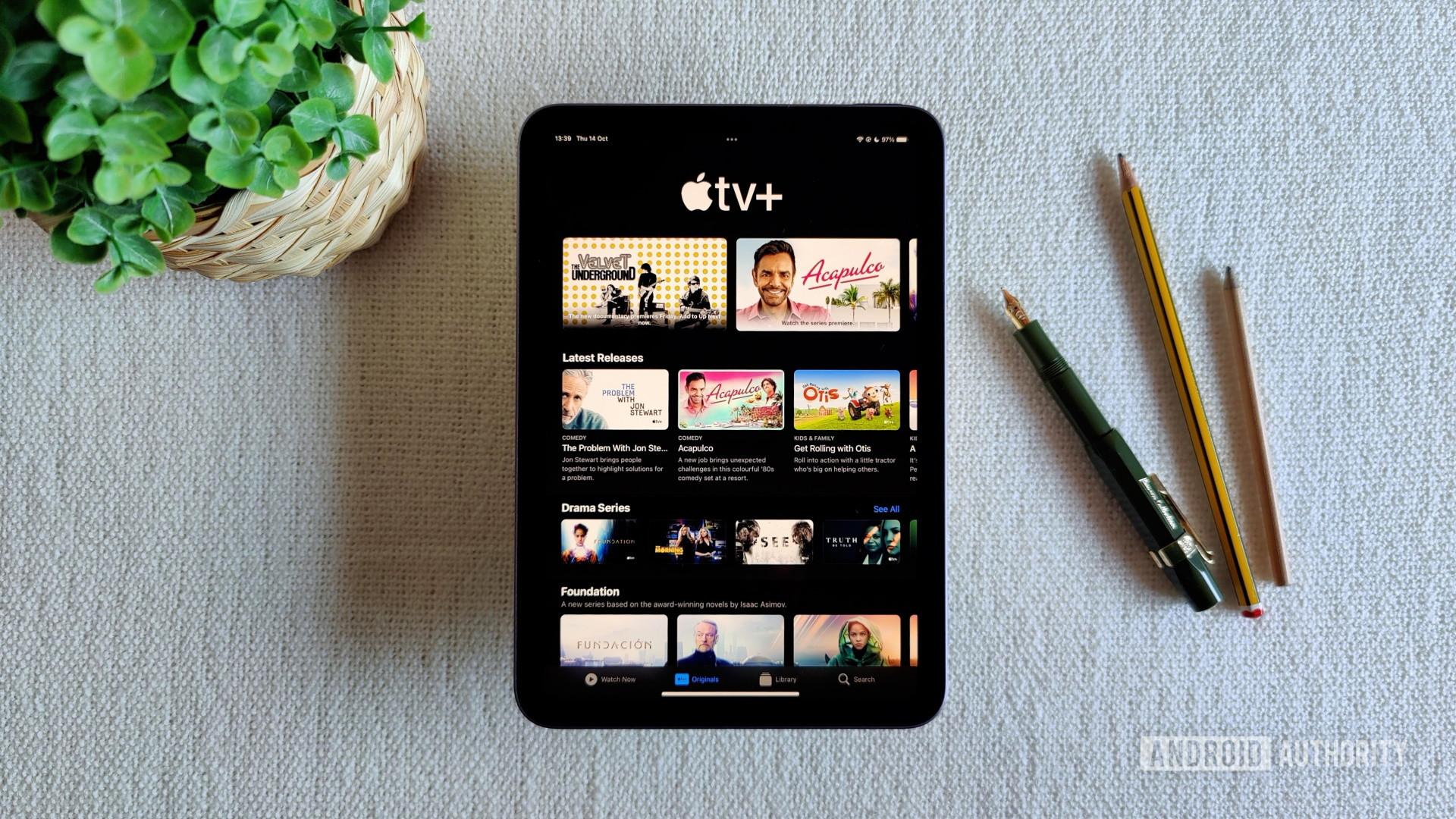 iPad Mini 2021 Apple TV