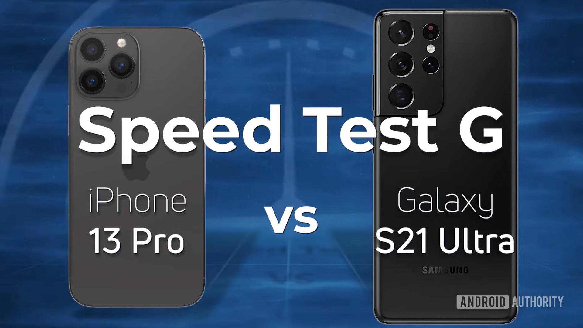 iPhone 13 Pro vs Samsung Galaxy S21 Ultra