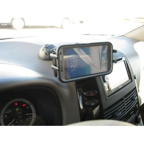 High Grade Car Dash Holder / Windshield Cradle Mount for HTC One (M8)