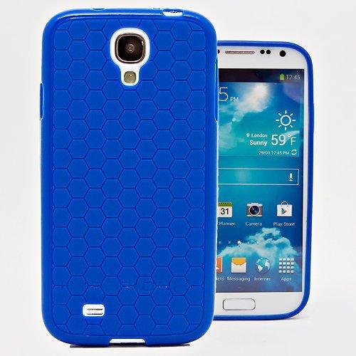 Hyperion Samsung Galaxy S4 Mini HoneyComb Matte Flexible TPU Case & Screen Protector