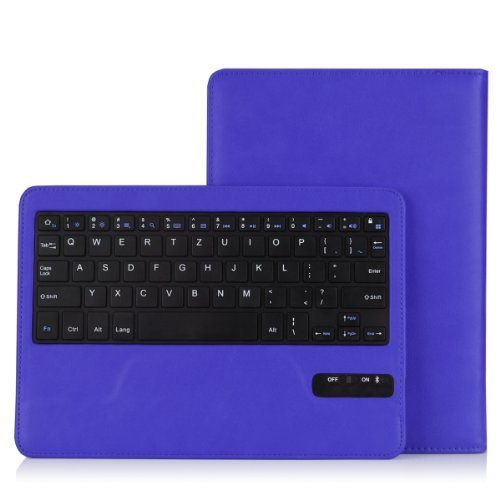 Bluetooth Keyboard For Android Samsung Tablet: MoKo Wireless Bluetooth Keyboard Cover For Samsung Galaxy Tab Pro 10.1