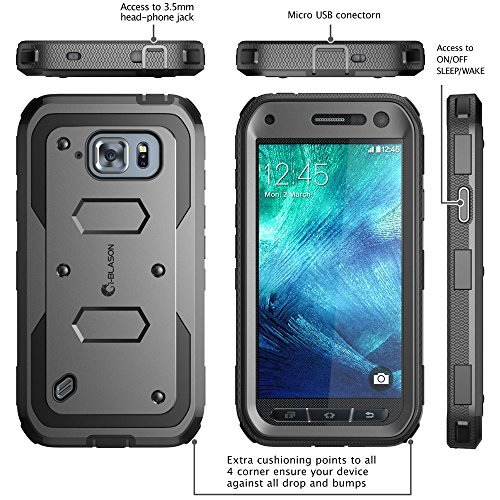 i-Blason Armorbox Hybrid Case for Samsung Galaxy S6 Active