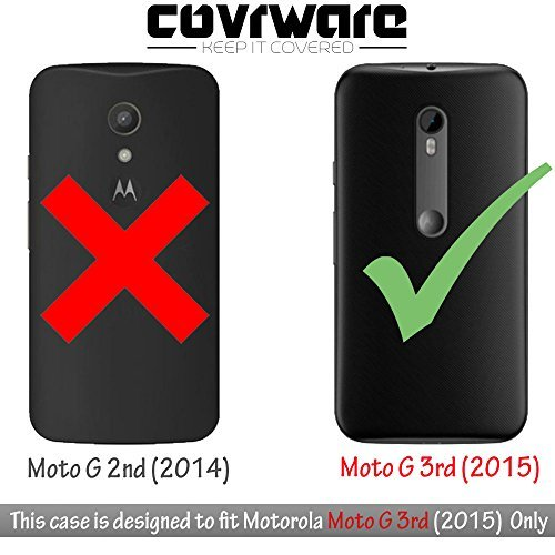 Covrware Shield Series Armor Case for Motorola Moto G (2015)