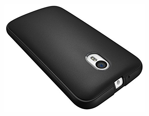 Diztronic Full Matte Slim-Fit Flexible Case for Motorola Moto G (2015)