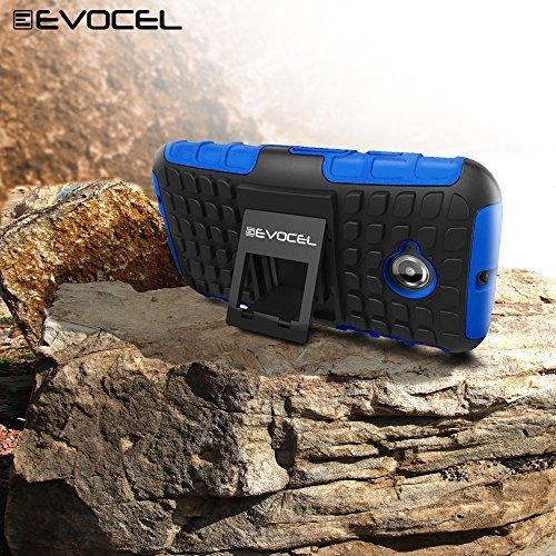 Evocel Heavy Duty Armor Case For Motorola Moto E